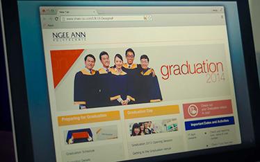 Ngee Ann Poly - Graduation websites